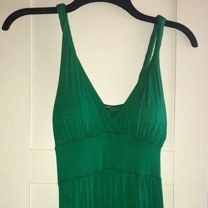 Women's Lush Emerald Green Long Maxi Dress Size S
